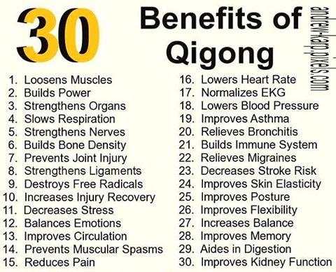 Benefits Qigong